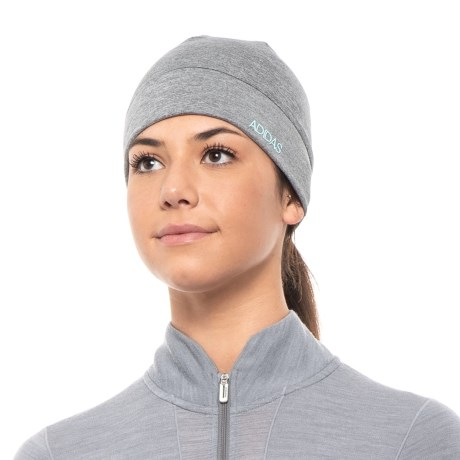 e8b80479427 adidas Ace Brimmer Beanie (For Women) in Gray Clear Blue