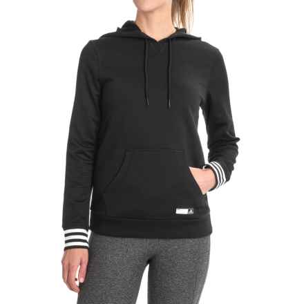 adidas Adigirl Hoodie (For Women) in Black - Closeouts