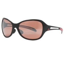 Adidas Adilibria Full Rim Sunglasses in Shiny Black/Pink/Lst Active Silver