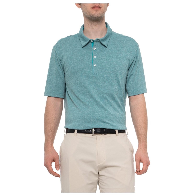 2b4b955715c82 adidas Adipure Tri-Color Pique Polo Shirt (For Men) - Save 64%