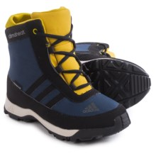 adidas Adisnow Snow Boots - Waterproof, Insulated (For Little and Big Kids) in Col Navy/Black/Raw Ochre - Closeouts
