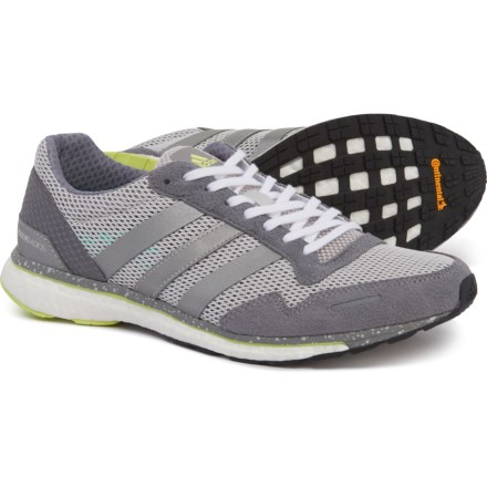 14b0799bcf3 adidas Adizero Adios Running Shoes (For Women) in Grey One Silver Metallic