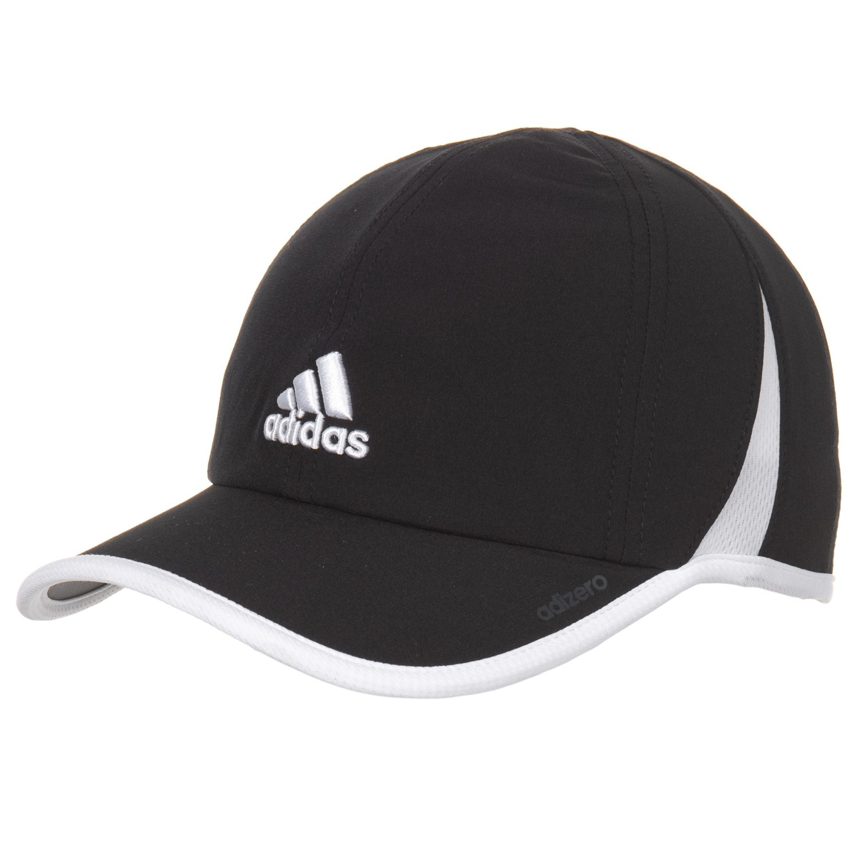 694c5bf9e0abe6 adidas Adizero II Cap (For Women) in Black/White ...
