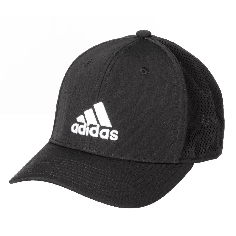 9898674e9aa adidas Adizero Scrimmage Baseball Cap - UPF 50 (For Men) in Black White ...