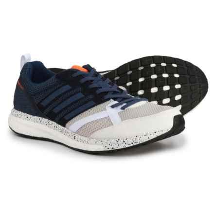 adidas Adizero Tempo 9 Running Shoes (For Men) in Footwear White/Noble Indigo/Core Black - Closeouts