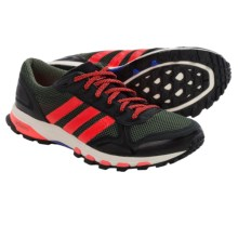 adidas Adizero XT 5 Trail Running Shoes (For Men) in Base Green/Solar Red/Chalk White - Closeouts