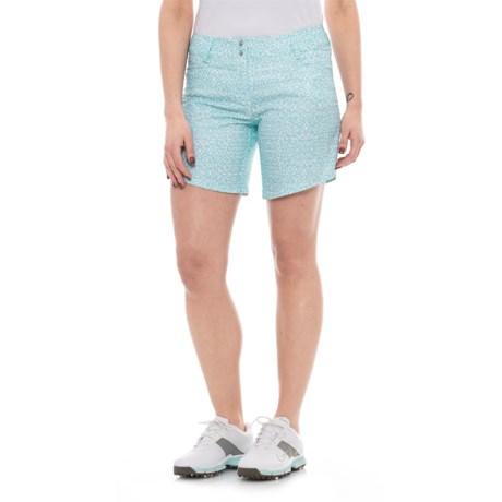 adidas Advance Deco Print Golf Shorts (For Women)