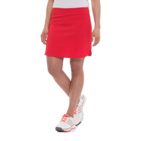 adidas Advantage Golf Skorts (For Women) in Ray Red