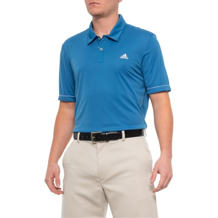 53a7a49f7a adidas Advantage Solid Polo Shirt - Short Sleeve (For Men) in Trace Royal -