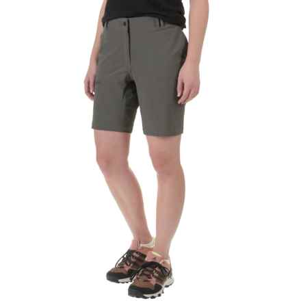 adidas All Outdoor Light Hike Flex Shorts - UPF 50+ (For Women) in Cinder - Closeouts