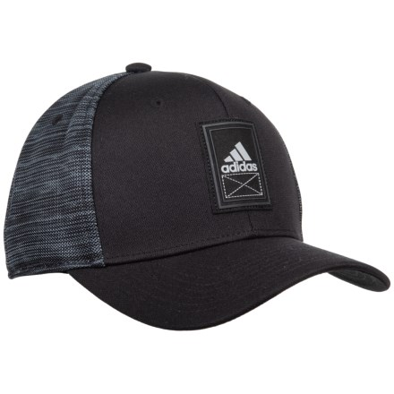355929409fd5e adidas Alliance Baseball Cap (For Men) in Black Grey