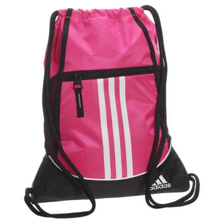 adidas Alliance II Sackpack in Shock Pink - Closeouts