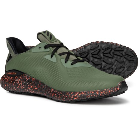 89d874be6 adidas AlphaBOUNCE 1 Cross Training Shoes (For Men) in Base Green Core Black