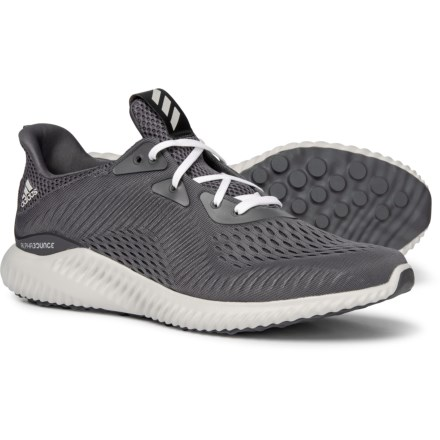 d70eaf99768d7 adidas Alphabounce EM Running Shoes (For Men) in Grey Five Footwear White