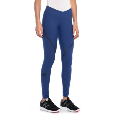 adidas AlphaSkin 360 Tights (For Women) in Mystery Ink F17