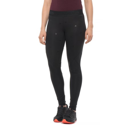 finest selection 2a0cb 64ecb adidas AlphaSkin Tights (For Women) in Black