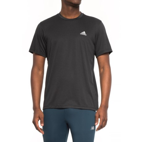adidas Athletic T-Shirt - Short Sleeve (For Men) in Black