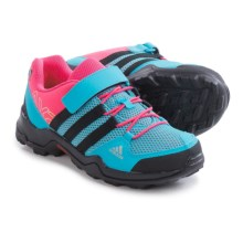 adidas AX2 CF Hiking Shoes (For Little and Big Kids) in Bright Cyan/Black/Super Pink - Closeouts