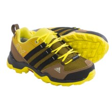 adidas AX2 CF Hiking Shoes (For Little and Big Kids) in Raw Ochre/Black/Bright Yellow - Closeouts