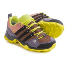 adidas AX2 CF Hiking Shoes (For Little and Big Kids) in Raw Pink/Black/Frozen Yellow - Closeouts