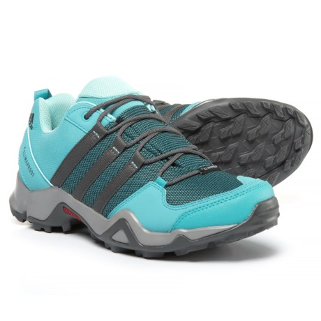 adidas AX2 ClimaProof® Hiking Shoes - Waterproof (For Women) in Ch Solid Grey/Vapour Blue/Grey Five