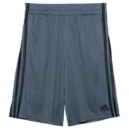 adidas Basic Shorts(For Big Boys) in Dark Grey - Closeouts