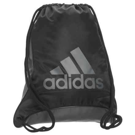 adidas Bolt II Sackpack in Black/Onix - Closeouts