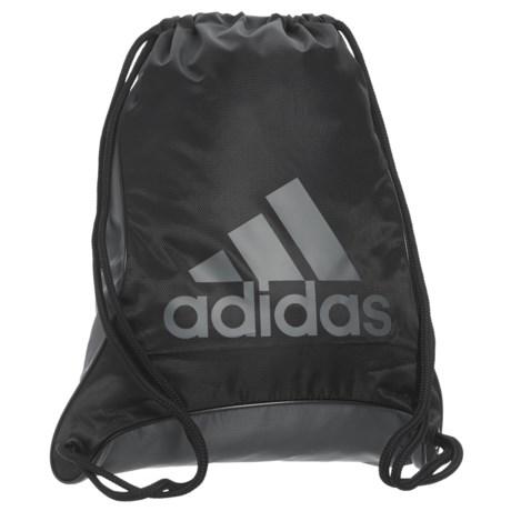 adidas Bolt II Sackpack in Black/Onix