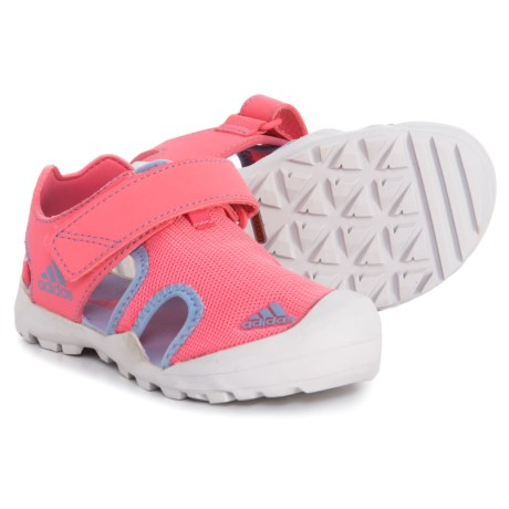 uk availability d7060 9b48e adidas Captain Toey Sport Sandals (For Little and Big Girls) in Chalk Pink