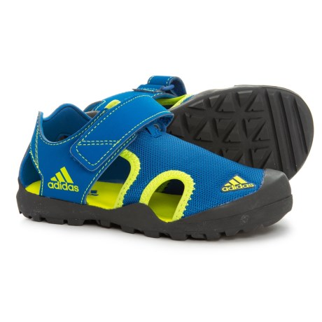 64ba346a7894 adidas Captain Toey Water Sports Sandals (For Little and Big Boys) in Blue  Beauty