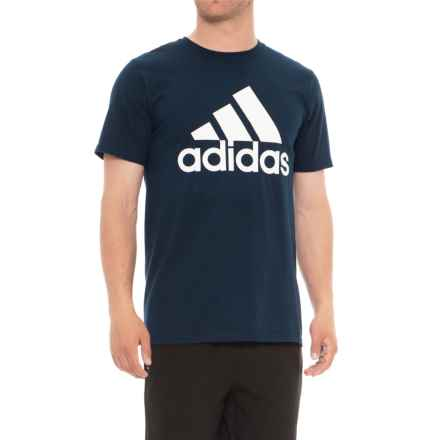 adidas Classic T-Shirt - Short Sleeve (For Men) in Navy - Closeouts