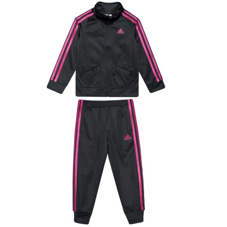 91b2f7617 adidas Classic Tricot Track Jacket and Pants Set (For Toddler Girls ...