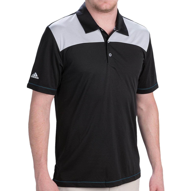 Adidas Climachill Polo Shirt Short Sleeve For Men