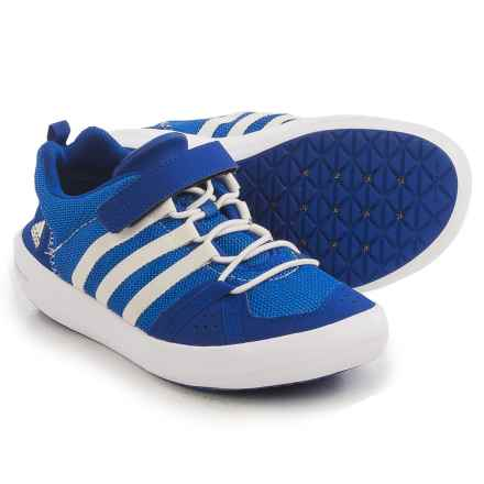adidas ClimaCool® Boat CF Shoes (For Little and Big Kids) in Col. Royal/Chalk White/Bright Royal - Closeouts