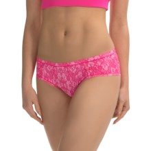 adidas Climacool® Cheekster Panties (For Women) in Lace Shock Pink/Pink Glow - Overstock