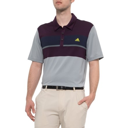 726fedb4b769 adidas ClimaCool® Color-Block Polo Shirt- Short Sleeve (For Men) in