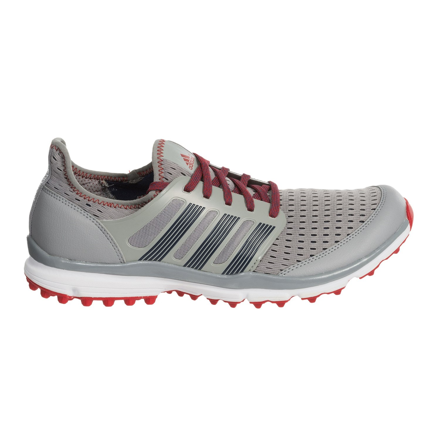 Adidas Climacool Shoes Grey White And Red