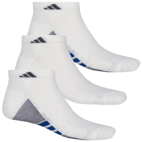 adidas ClimaCool® Superlite Low-Cut Socks - 3-Pack, Ankle (For Men)