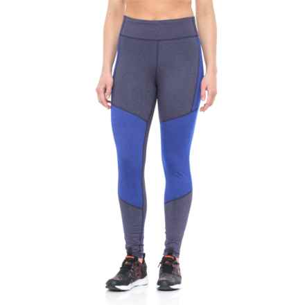 adidas ClimaLite® High-Rise Leggings (For Women) in Noble Ink F17 - Closeouts