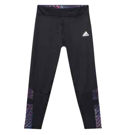 adidas ClimaLite® Invincible Tights (For Big Girls) in Black - Closeouts