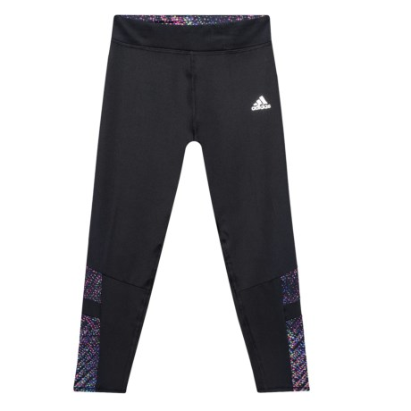 adidas ClimaLite® Invincible Tights (For Big Girls) in Black