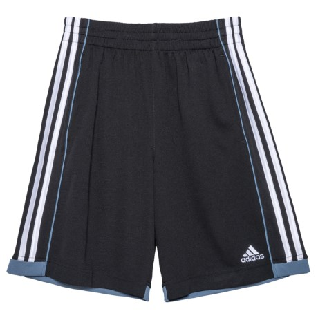adidas ClimaLite® Next Speed Shorts (For Little Boys) in Black