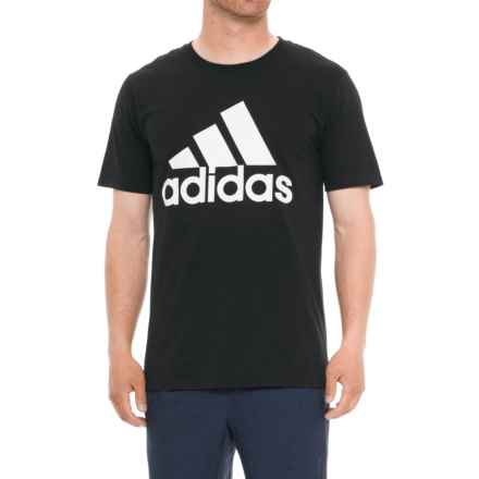 adidas ClimaLite® Tested Shirt - Short Sleeve (For Men) in Black - Closeouts