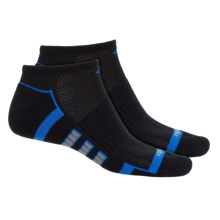 adidas ClimaLite® X II Socks - 2-Pack, Below the Ankle (For Men) in Black/Bright Royal/Vista Grey - Closeouts