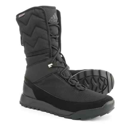 adidas ClimaWarm® Choleah High ClimaProof® Snow Boots - Waterproof, Insulated (For Women) in Black/Black/Black - Closeouts