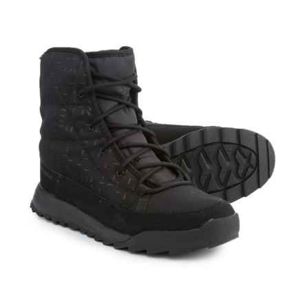 adidas ClimaWarm® Choleah Padded ClimaProof® Snow Boots - Waterproof, Insulated (For Women) in Black/Reflective/Black - Closeouts