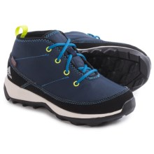 adidas ClimaWarm® Daroga Chukka K Boots - Insulated (For Little and Big Kids) in Col Navy/Black/Super Blue - Closeouts