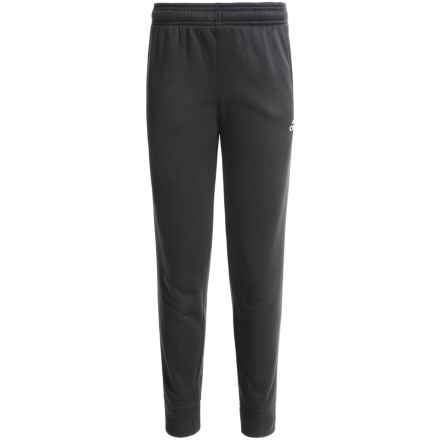 adidas ClimaWarm® Ultimate Fleece Joggers (For Big Boys) in Black - Closeouts