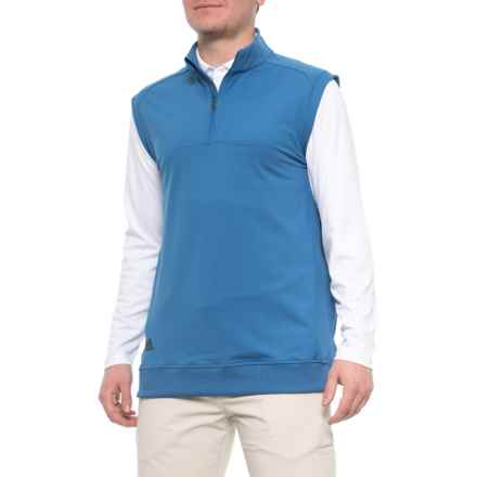 on sale 18f5c 14a5c adidas Club Vest - Zip Neck (For Men) in Trace Royal - Closeouts