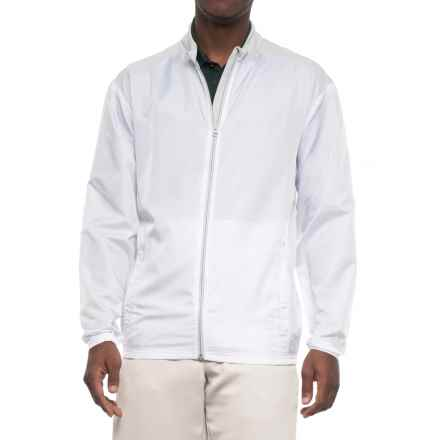 adidas Club Wind Jacket (For Men) in White - Closeouts